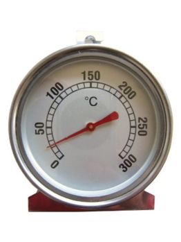 Dr. Richter Ofenthermometer - Backofenthermometer bis 300°C - Thermometer Ofen -