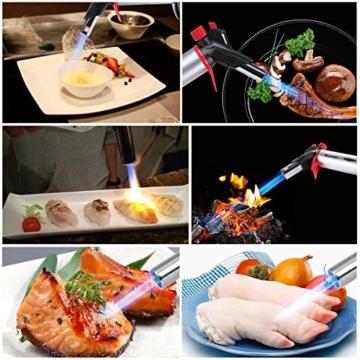 Küche Lötlampe, Blusmart Cooks Lötlampe für Creme Brulee Köche Fackel Chefs Butanbrenner Professional Grade Culinary Lötlampe zum Kochen von Speisen -