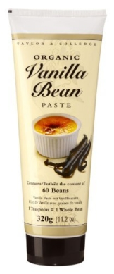 Taylor & Colledge - Bio Vanilla Bean Paste - 320g -
